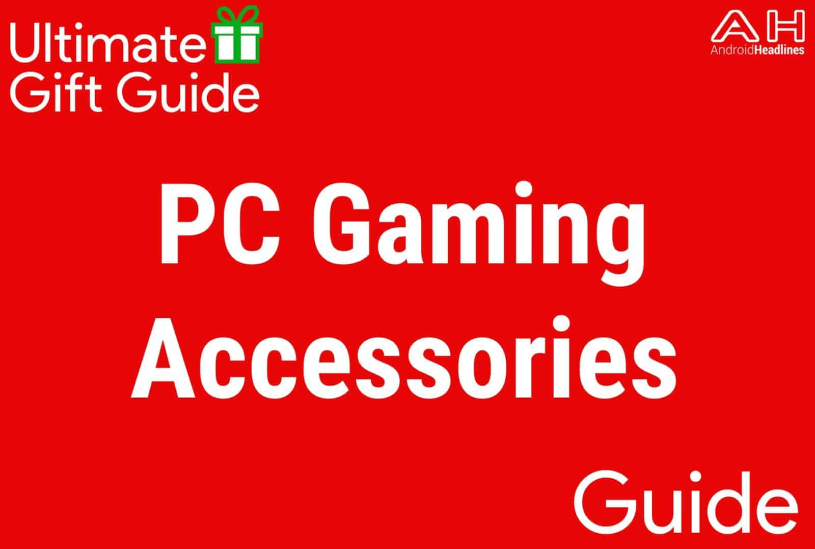 PC Gaming Accessories - Gift Guide 2015