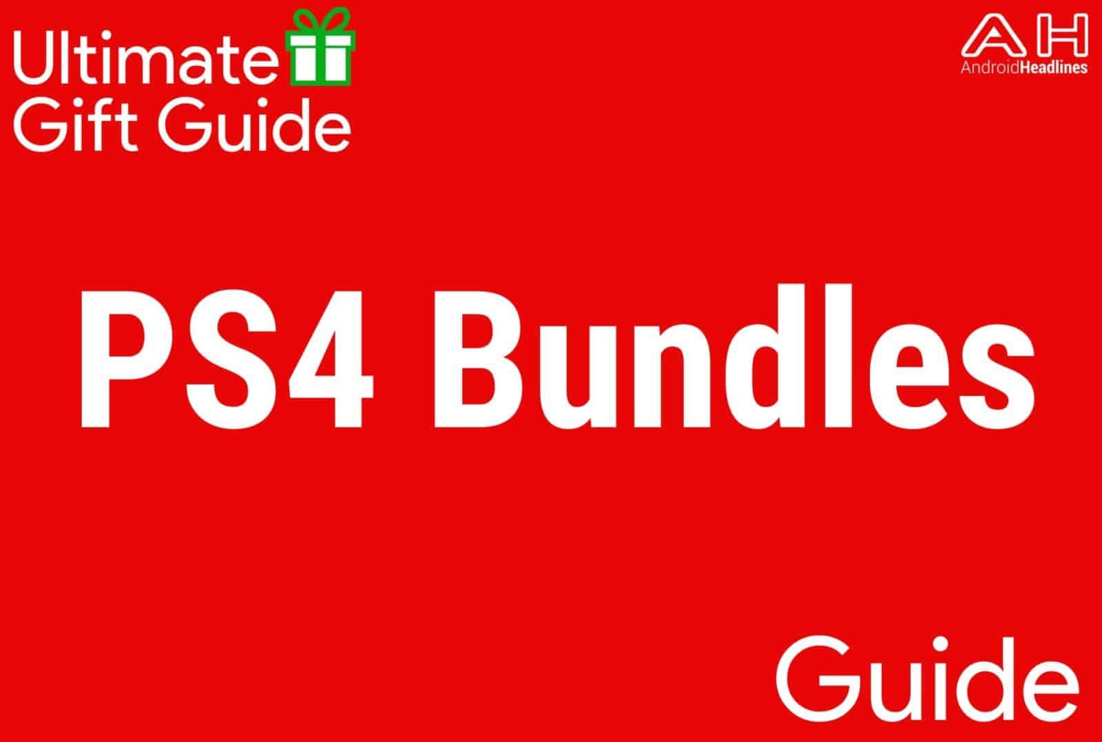 PS4 Bundles - Gift Guide 2015
