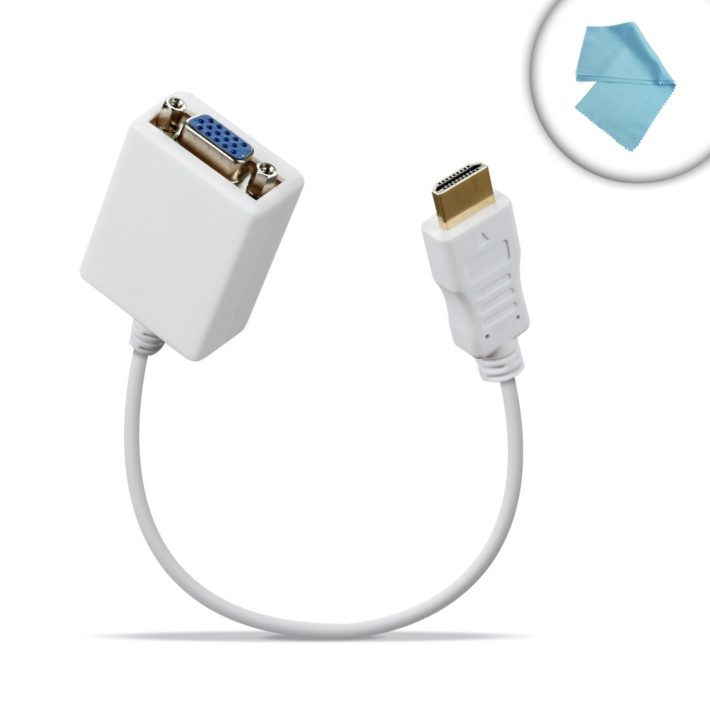 PureVIDEO Gold-Plated High-Speed HDMI to VGA Adapter