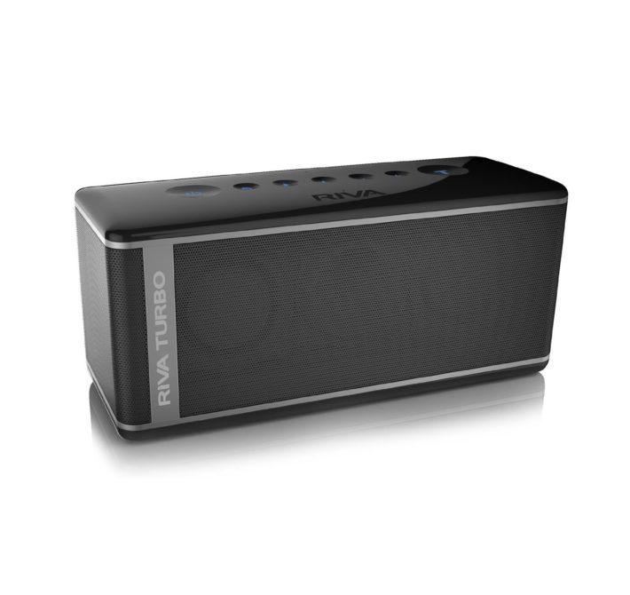 Riva Audio Turbo X Black Bluetooth Speaker and Speakerphone
