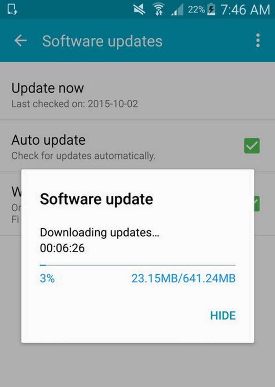 Samsung Galaxy Note 4 gets 5.1.1