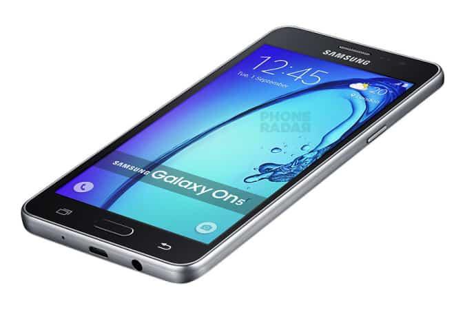 Samsung Galaxy ON5 Dynamic black PhoneRadar KK