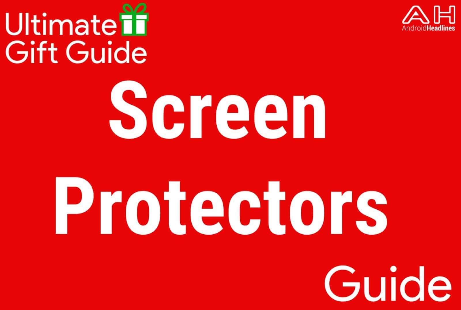Screen Protectors - Gift Guide 2015