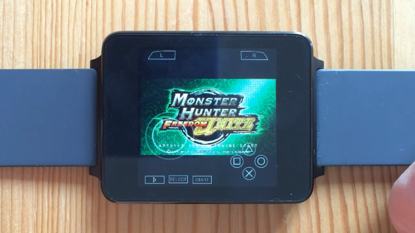 PPSSPP On Android Wear