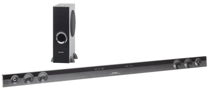 Sharp HT-SB602 2.1 Speaker System - 310 W RMS - Wireless Speaker(s) HTSB602