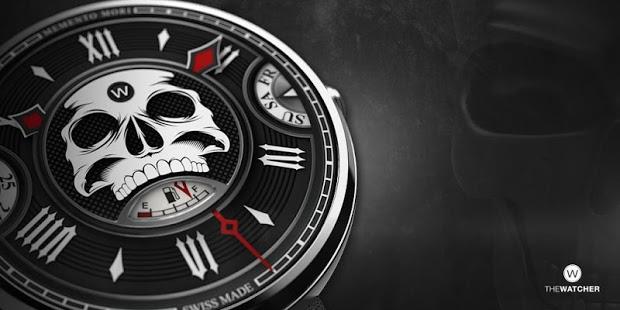 Skull Watch Face