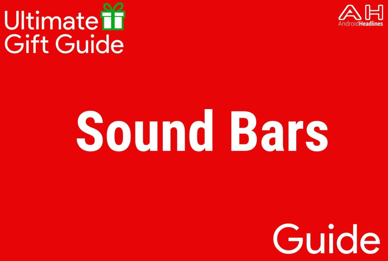 Sound Bars - Gift Guide 2015
