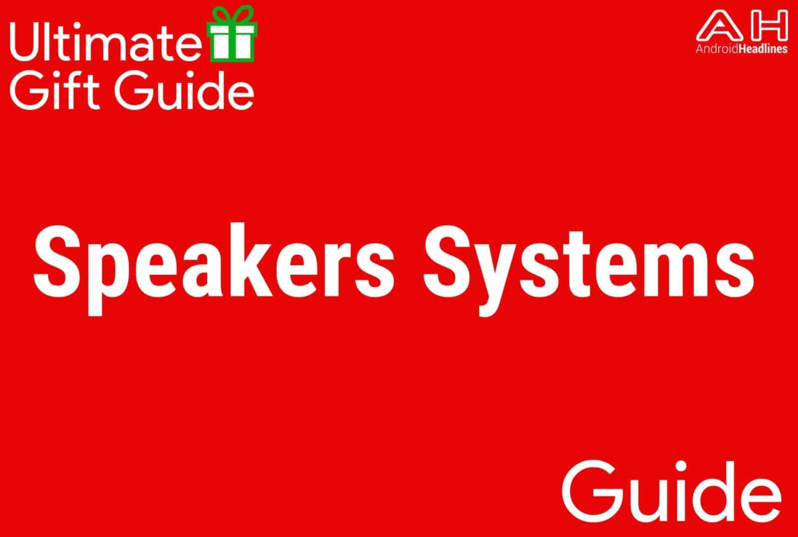 Speaker Systems - Gift Guide 2015