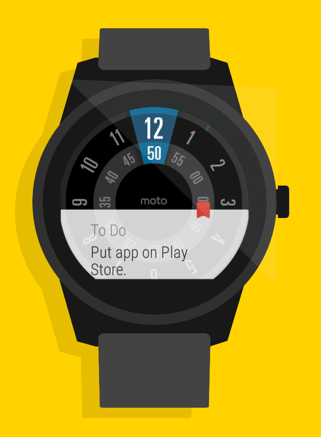 Sticky Notes for Android Wear