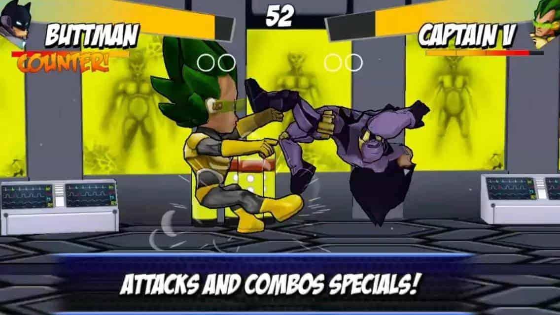 Superheroes Free Fighting Games