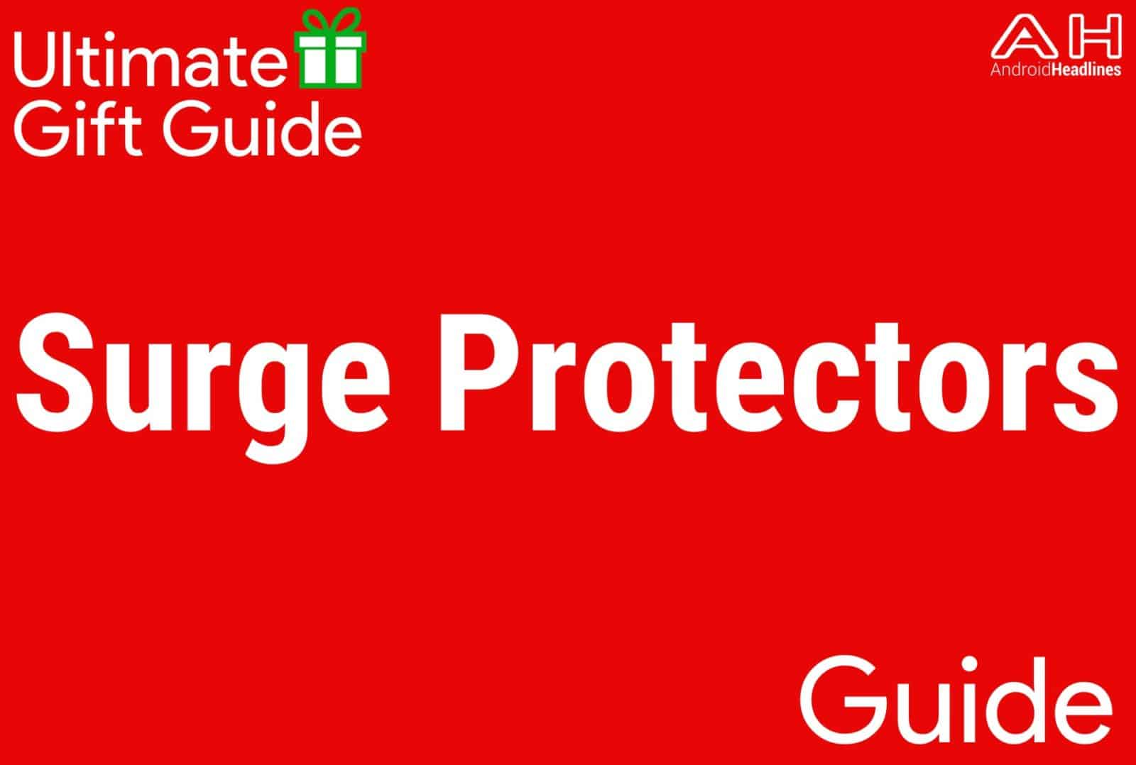 Surge Protectors - Gift Guide 2015