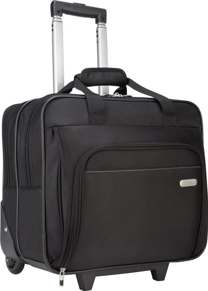 Targus Metro Roller Laptop Case for 16-Inch Laptop, Black