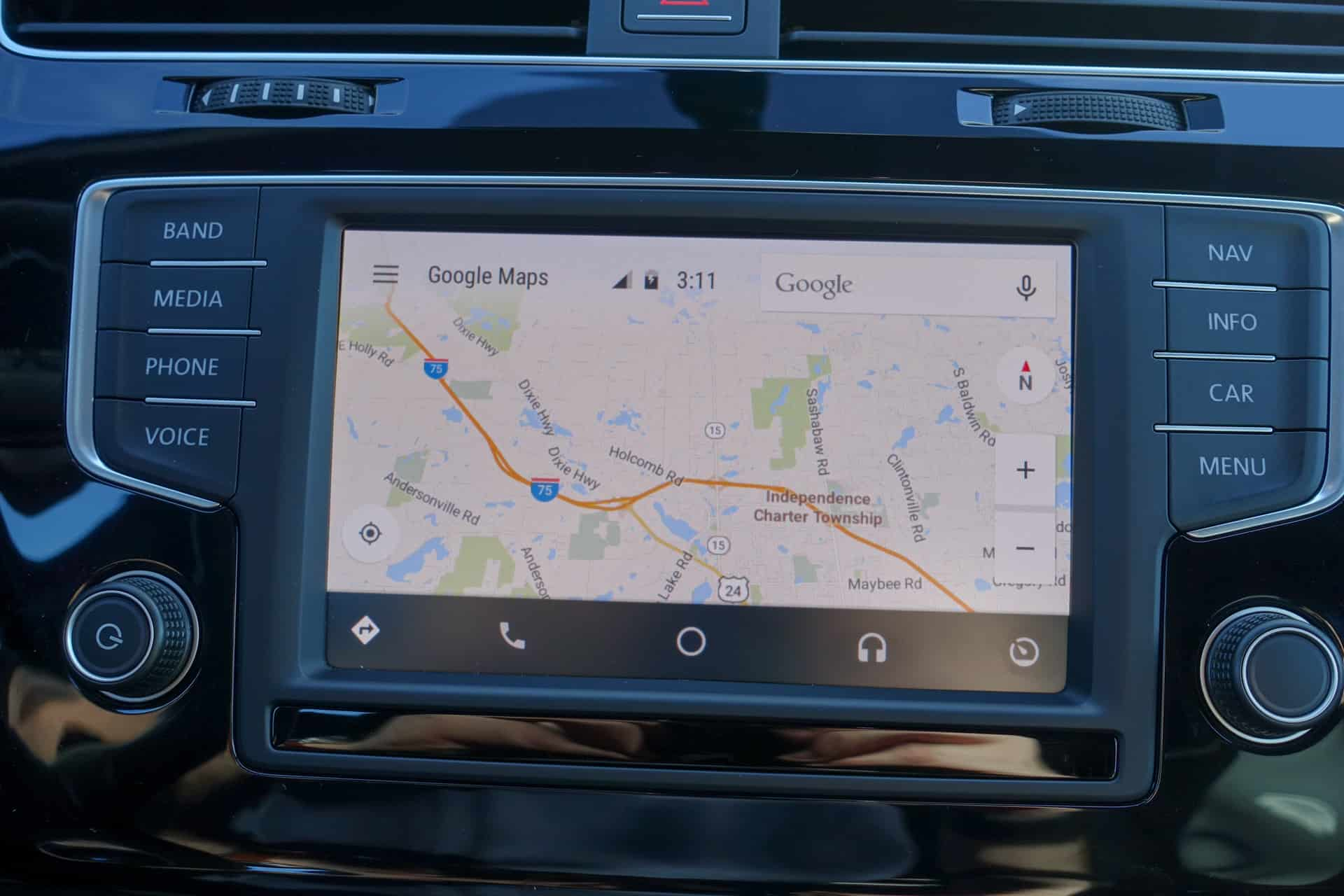 Volkswagen golf r Android Auto AH 10