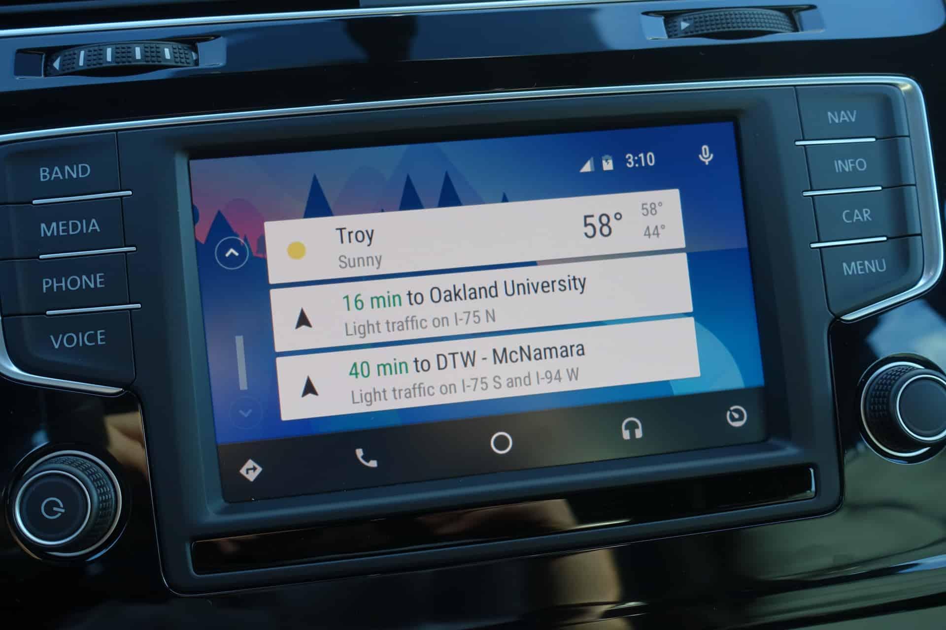 Volkswagen golf r Android Auto AH 11