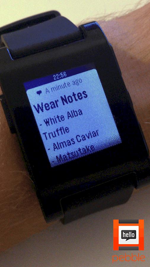 Wear Notes
