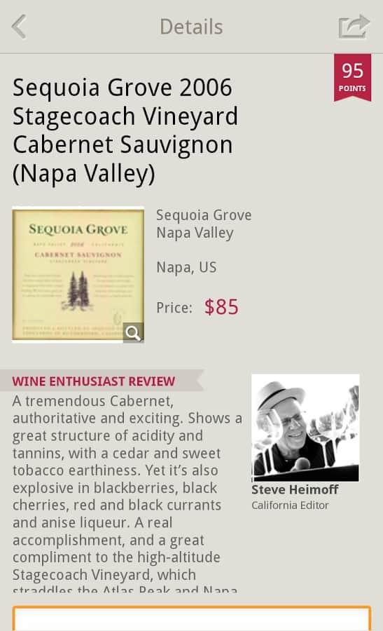 Wine Enthusiast Tasting Guide