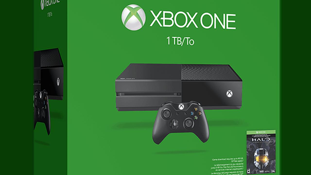 XboxOne 1TB Halo Master Chief bundle