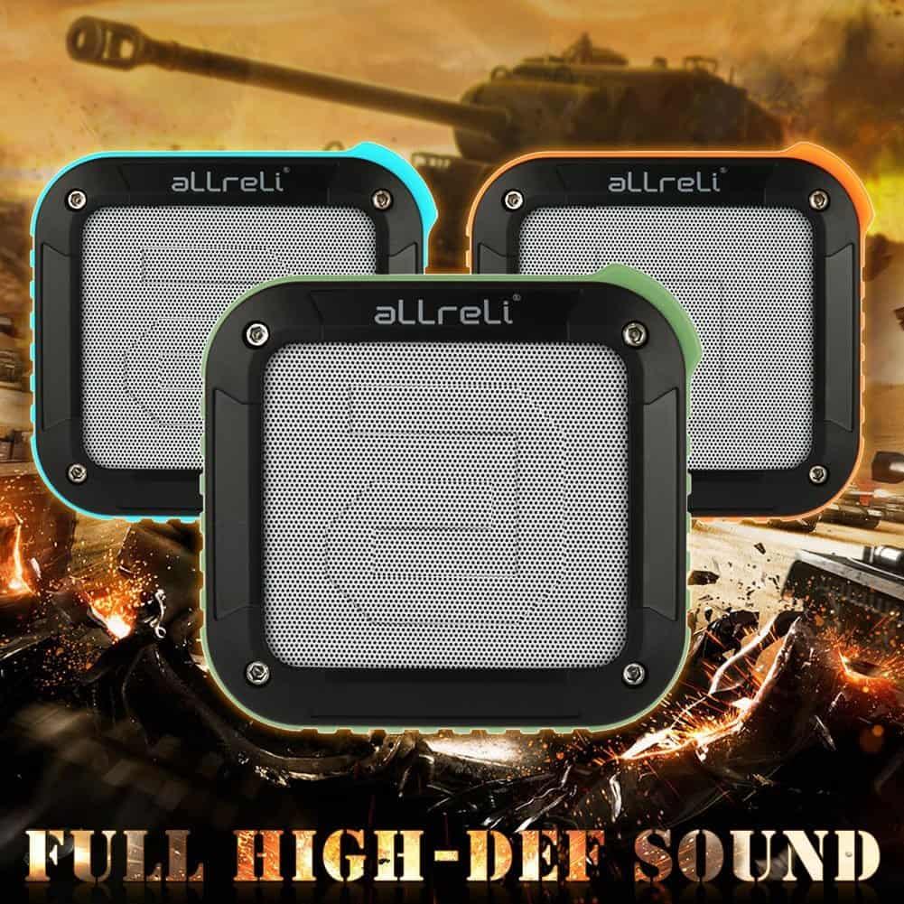 aLLreLi Rockman-S Waterproof Speaker 02