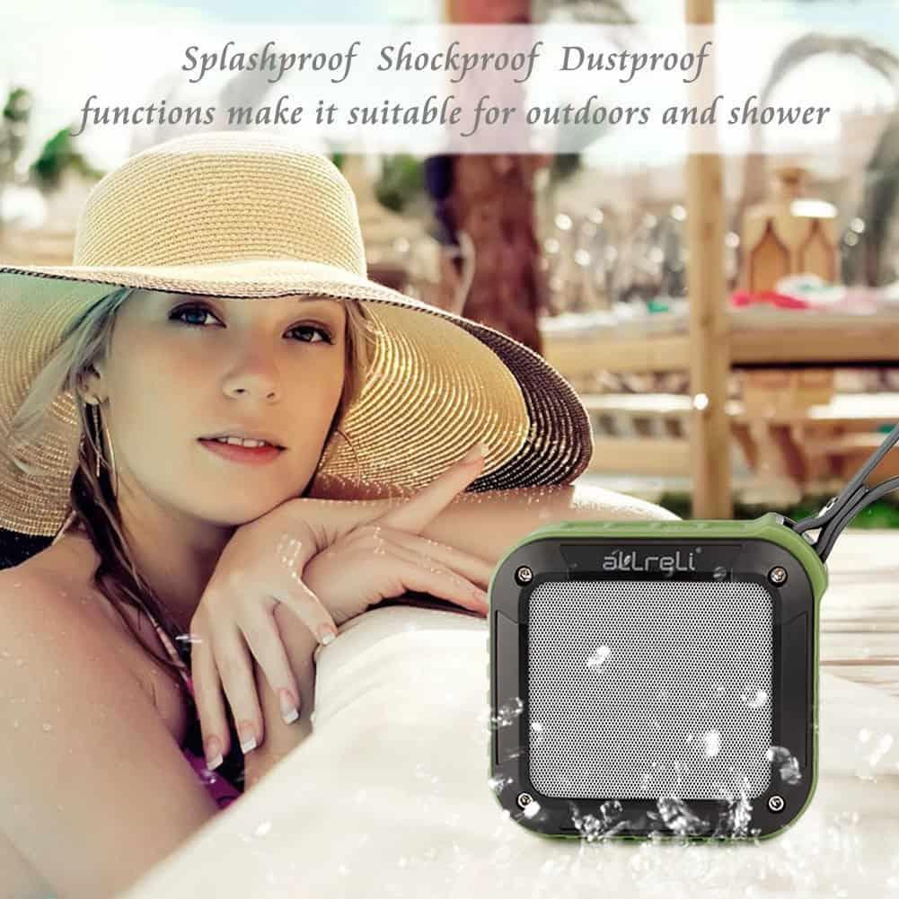 aLLreLi Rockman-S Waterproof Speaker 03
