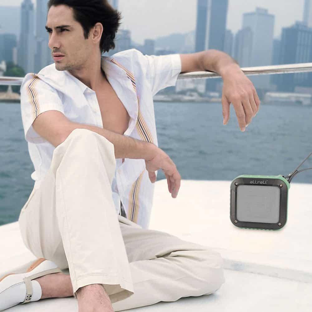 aLLreLi Rockman-S Waterproof Speaker 07