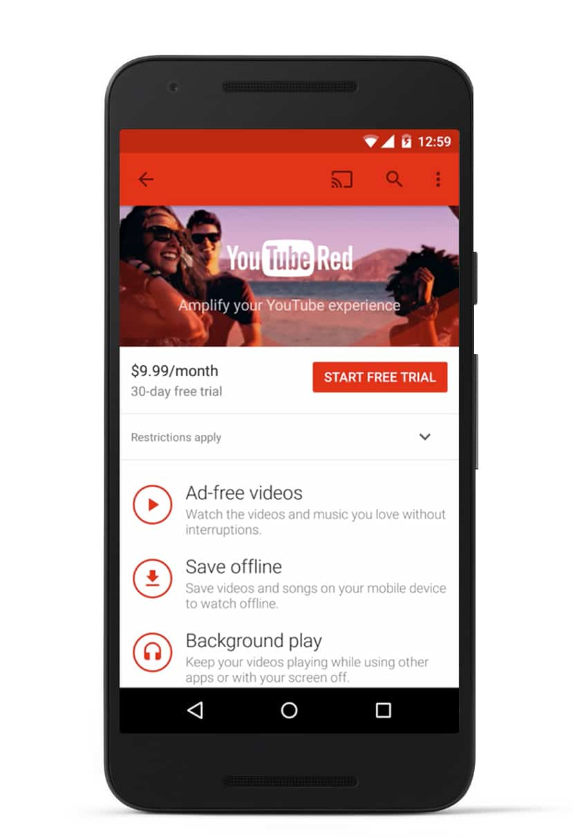 youtube red AH 3