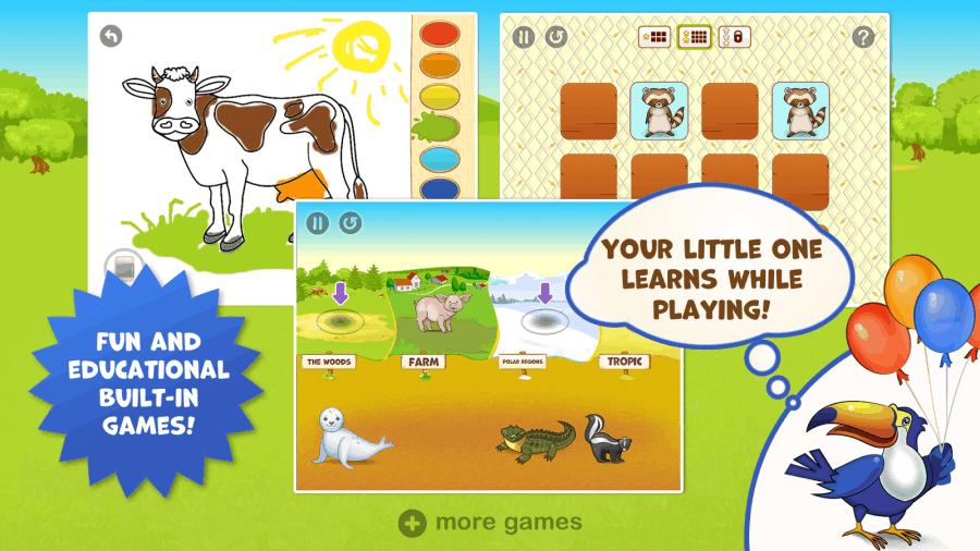 zoo playground mini games