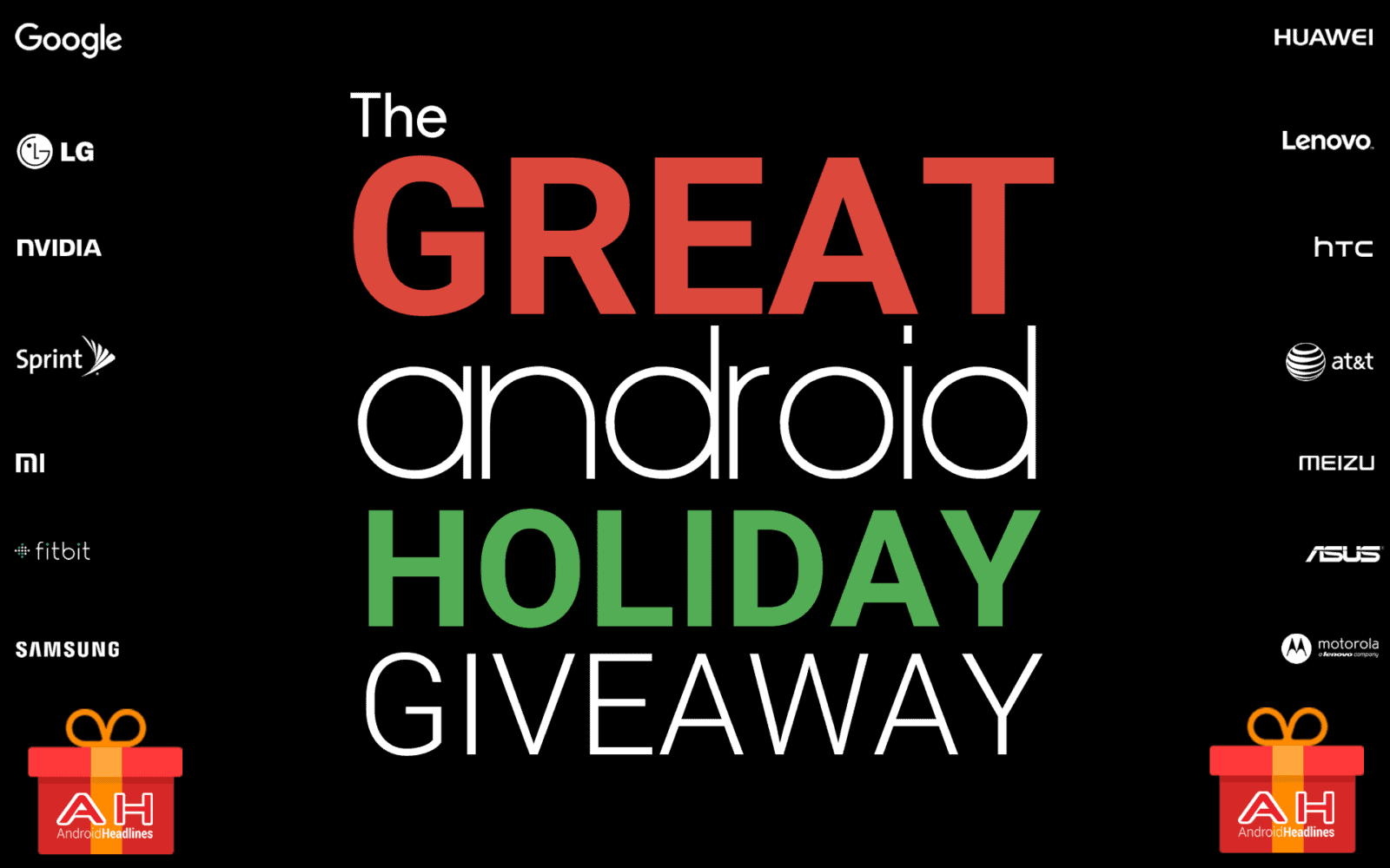 AH The Great Android Giveaway - 25 prizes to be won 2