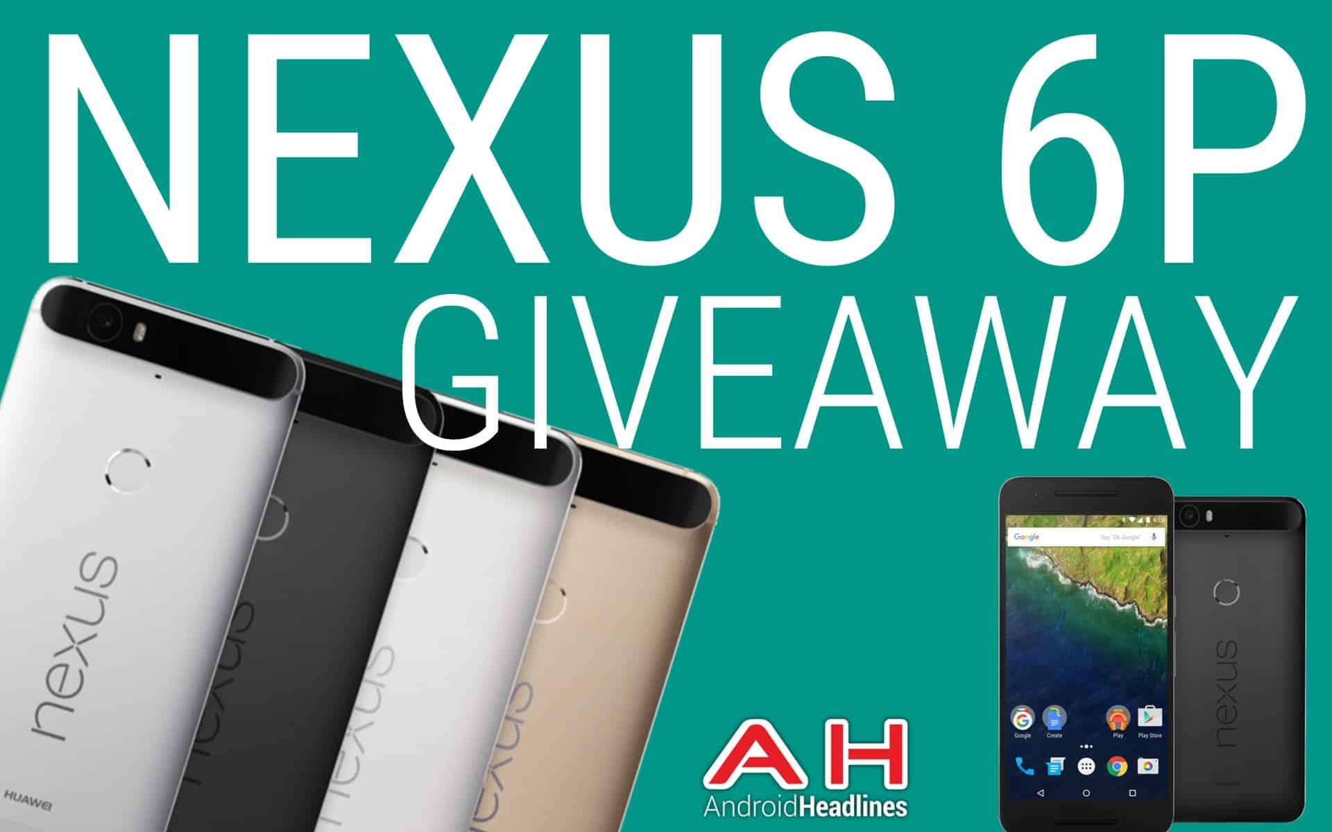 Android Headlines Nexus 6P Giveaway