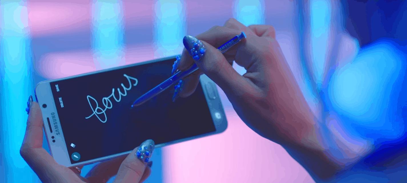 Arianna Grande Focus Galaxy Note 5 KK