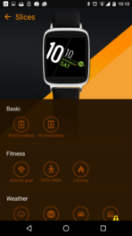 Asus ZenWatch 2 Manager App AH 12