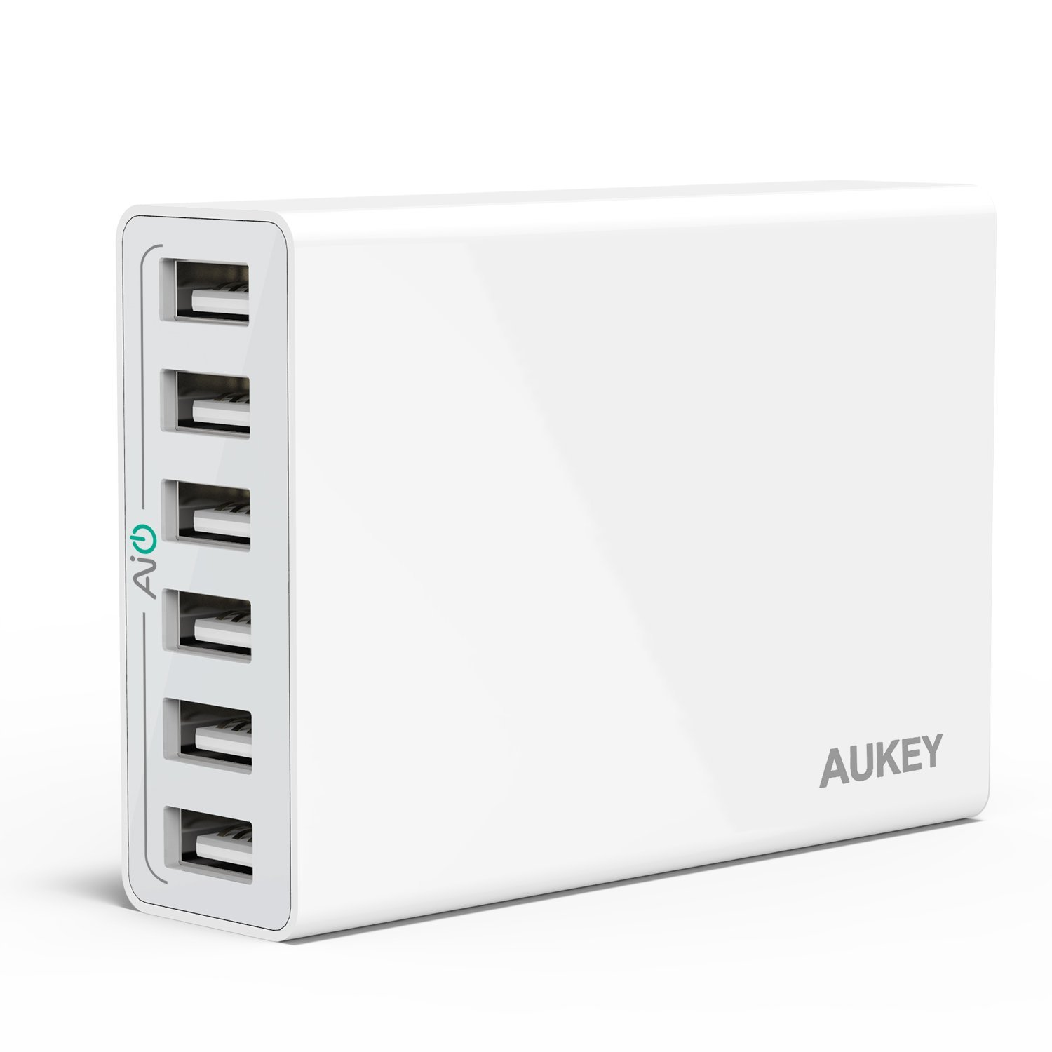 Aukey 6 Ports USB Desktop Charging Station 01