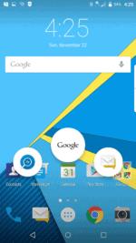 Home Button Swipe Shortcuts