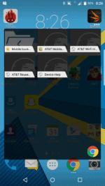 Pop-up widgets