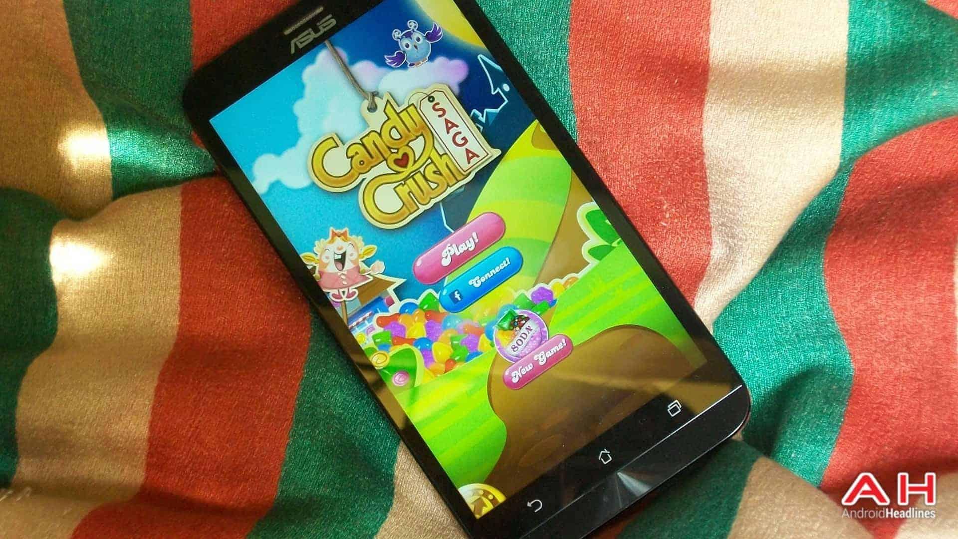 Candy Crush Saga logo AH KK