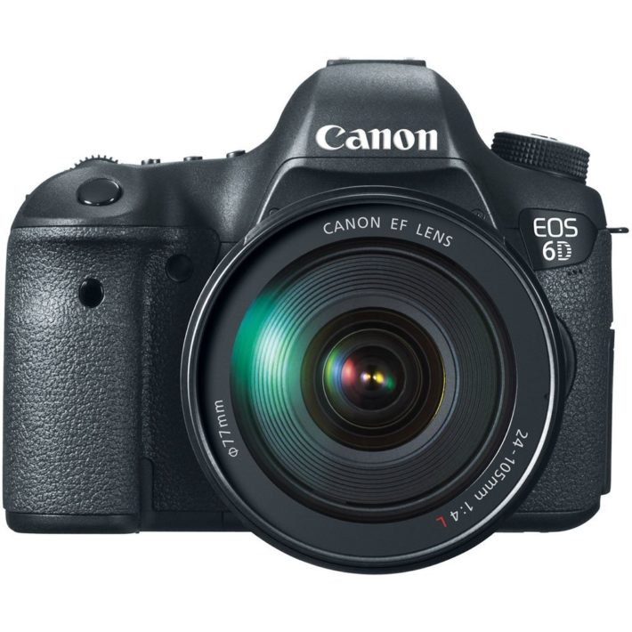Canon EOS 6D 20.2 MP CMOS Digital SLR Camera with 3.0-Inch LCD and EF 24-105mm f:4L IS USM Lens Kit