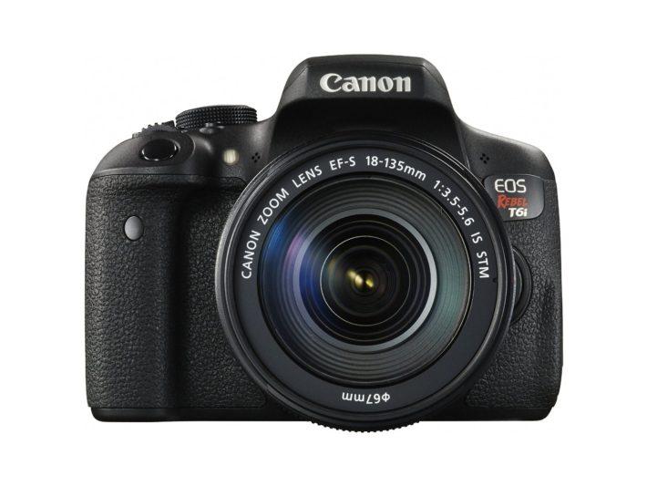 Canon EOS Rebel T6i Digital SLR with EF-S 18-135mm IS STM Lens