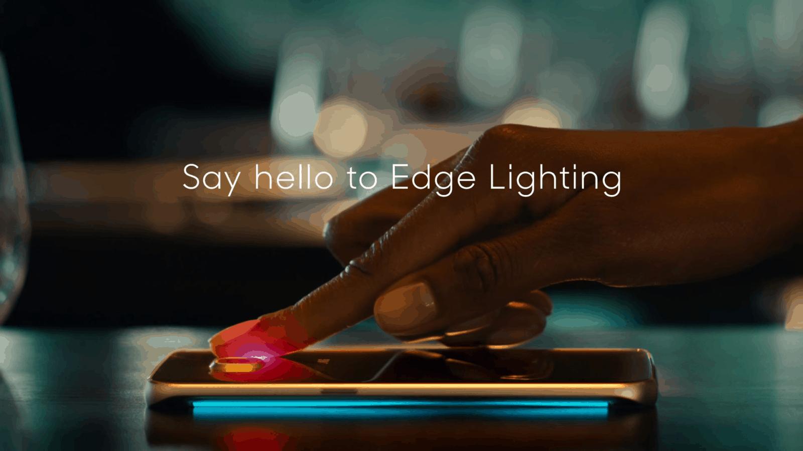 Edge Lighting Galaxy S6 Edge Ad