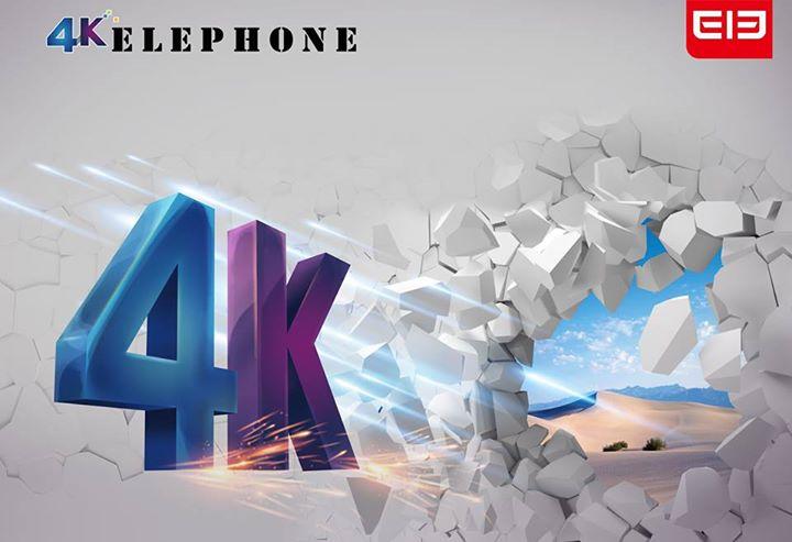 Elephone 4K teaser_1