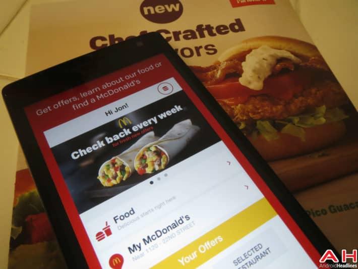 Fast Food Apps McDonalds AH