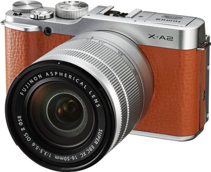 Fujifilm X-A2 with XC16-50mm II Mirrorless Camera