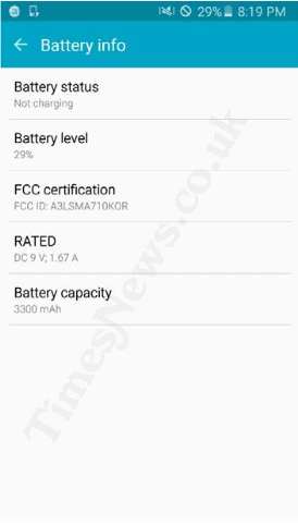 Galaxy A7 2016 battery leak KK