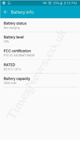Galaxy A7 2016 battery leak KK