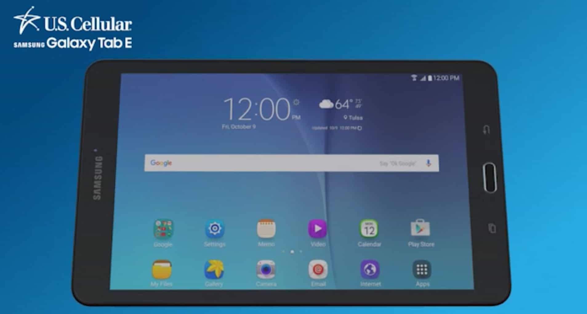 Galaxy Tab E U.S. Cellular