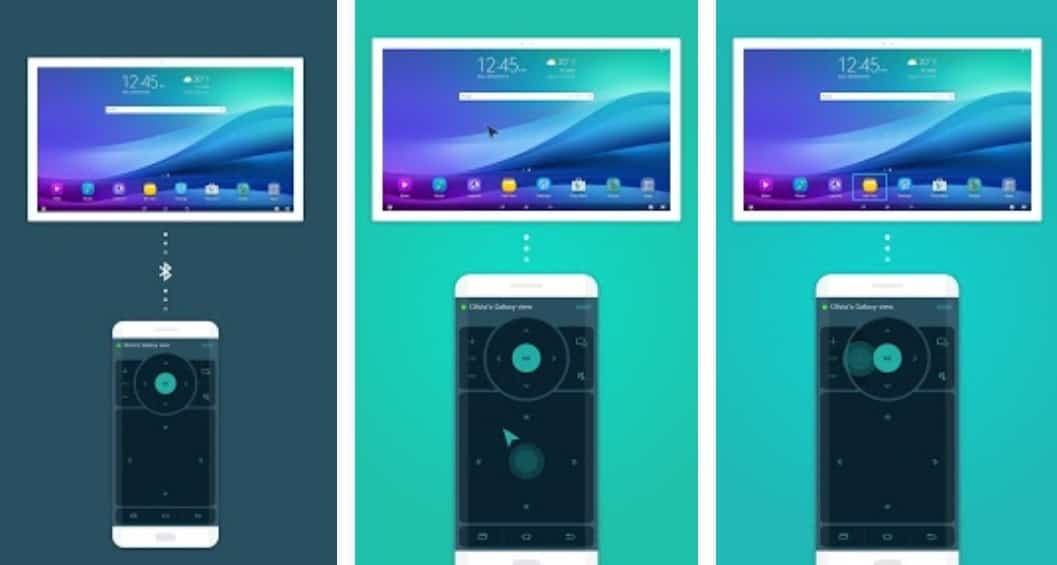 Samsung Launches App To Control The Galaxy View Tab Remotely