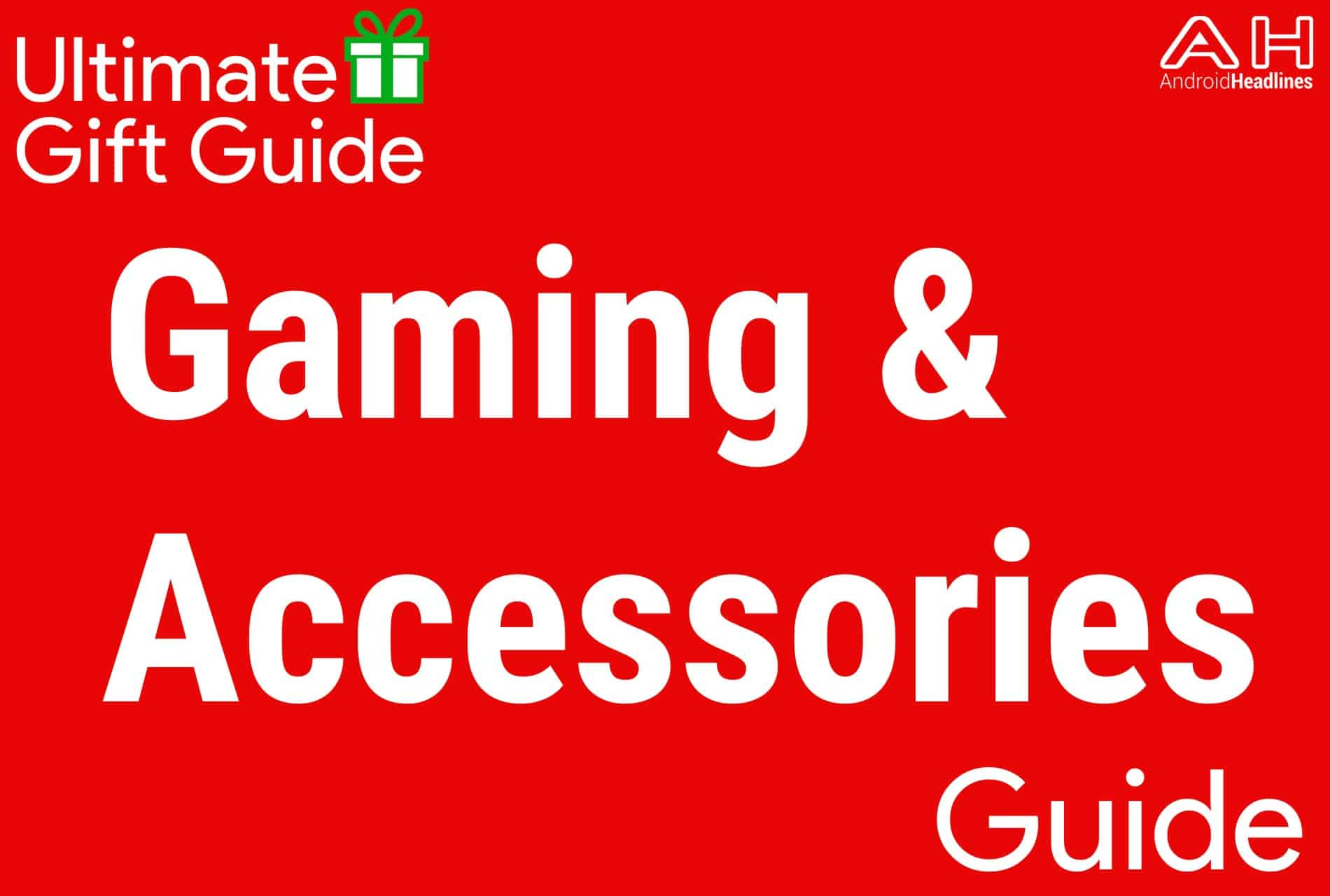 Gaming and Gaming Accessories - Holiday Gift Guide 2015-2016