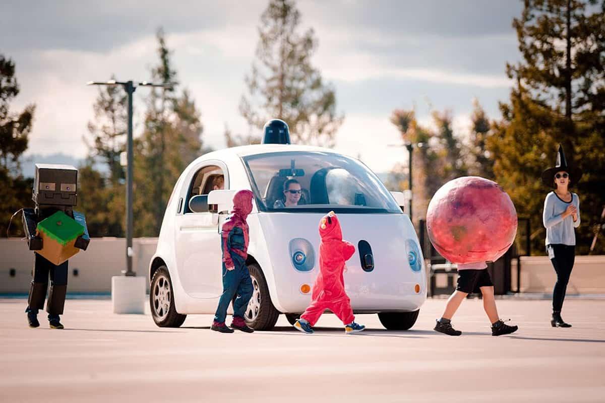 Google Car and Kids