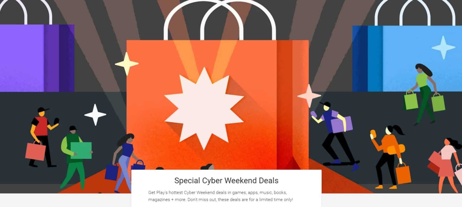 Google Cyber deals play store