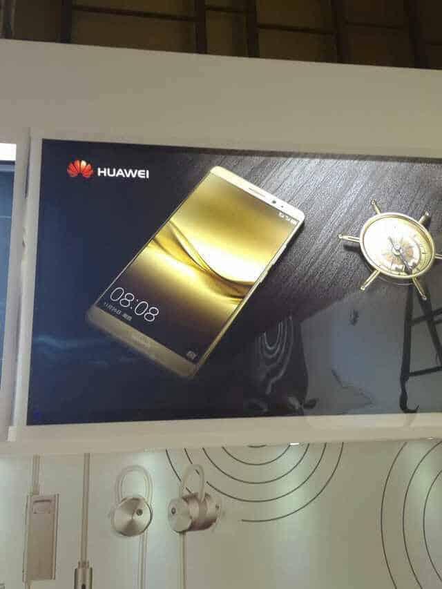 Huawei Mate 8 leaked press info 1
