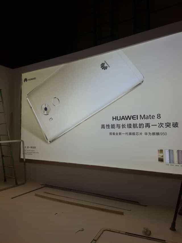 Huawei Mate 8 leaked press info 2