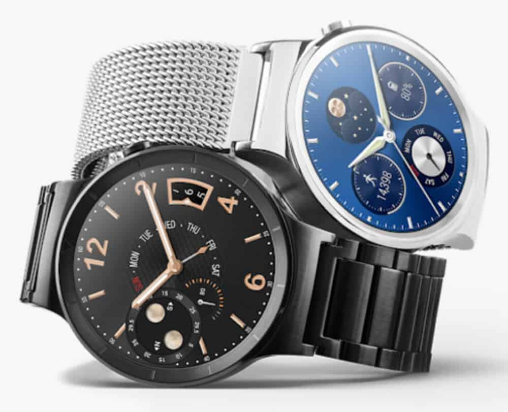 Huawei Silver and Black Watch
